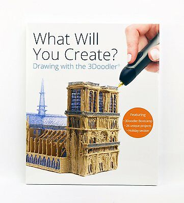 3Doodler 3D Printing Pen Project Book - GorillaSpoke for Free P&P Worldwide!