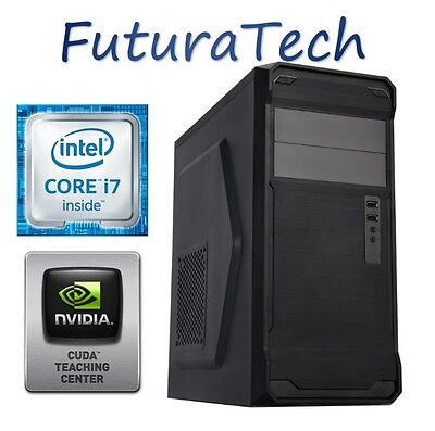 PC ORDENADOR SOBREMESA INTEL CORE i7 1TB HDD 4GB DDR3 GeForce 1GB 210GT Dedicado