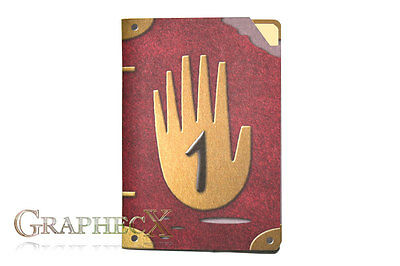 Journal 1 gravity falls inspired cosplay personalized notebook