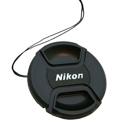 Nikon Center-Pinch Snap-On Front Lens Cap w/ String - 52mm
