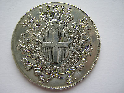 Malta 1796 silver 2 Scudi, ex mount as highly polished.