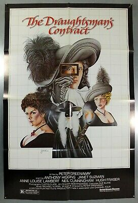 The Draughtsman's Contract - Peter Greenaway - Original Usa 1Sht Movie Poster