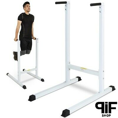 Parallele Dip Barre Push Up Allenamento Palestra Fitness Barre Robuste Acciaio