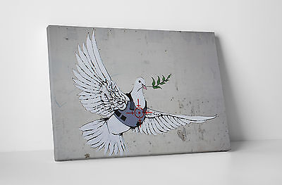 ARMORED DOVE OF PEACE BANKSY Colorized JFK Half Dollar Coin VEST CROSSHAIRS