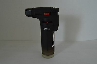Eagle Jet Torch Adjustable Flame Lighter Butane Refillable  Black