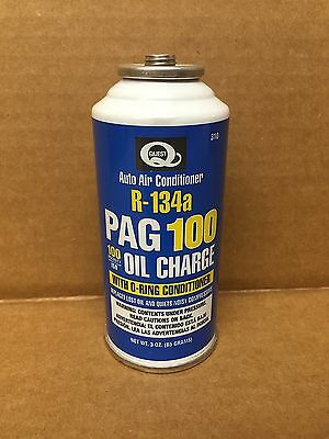 Quest Auto Air Conditioning R-134a Pag 100 Oil Charge W/ O-ring Conditioner