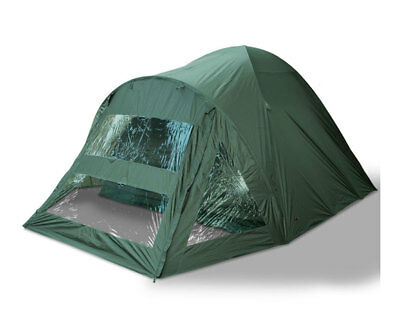 Carp Bivvy 2 Man Fishing Tent Shelter Double Skinned With Groundsheet NGT Tackle