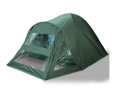 NEW Fishing Bivvy Tent Double Skinned With Groundsheet Carp fishing 2 Man NGT