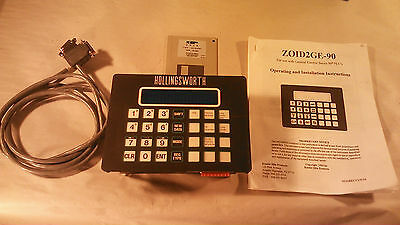 Hollingsworth Zoid Operator Interface ZOID2GE-90 / ZS-18 w/ Software and Manual