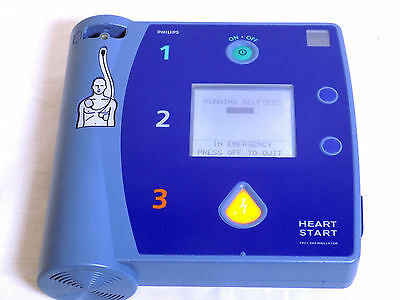 Philips HeartStart FR2+ with NEW original battery replacement pads
