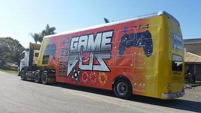 Double Decker Game Bus - Mobile Entertainment + Cafe / Bar