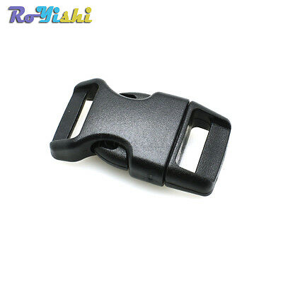 "5/8""Contoured Side Release For Paracord Bracelet Plastic Buckle"