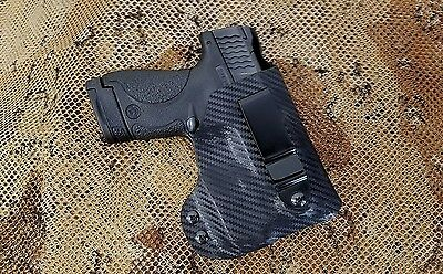 Gunner's Custom Holster fits M&P Shield w/ Streamlight TLR-6  IWB tuckable