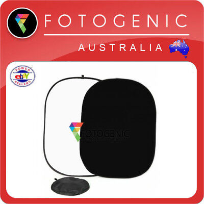 Photographic Video Pop Up Background Backdrop Muslin 1.5m x 2m Black White