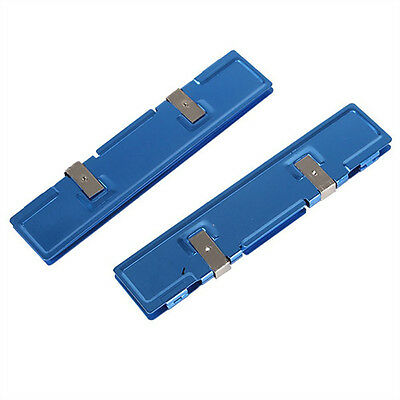 2pcs Memory Cooler Heat Spreader Heatsink New Blue 12.65*2.59*0.8cm Cooling