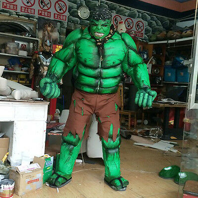A whole set of Costumes COSPLAY Hulk DJ Fancy Dress Party Nightclub Performance