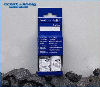 Original Ford Lackstift Iridium Schwarz Mica + Klarlack 18ml