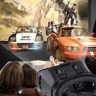 3D Box Virtual Reality Glasses Cardboard Headset Movie Game for Mobile Phone OK