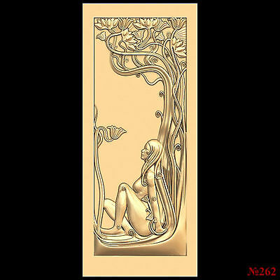 (262) STL Model Door for CNC Router 3D Printer  Artcam Aspire Bas Relief