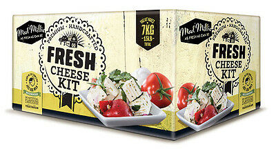 Mad Millie FRESH Cheese Kit Making Kit - birthday gift present how to make