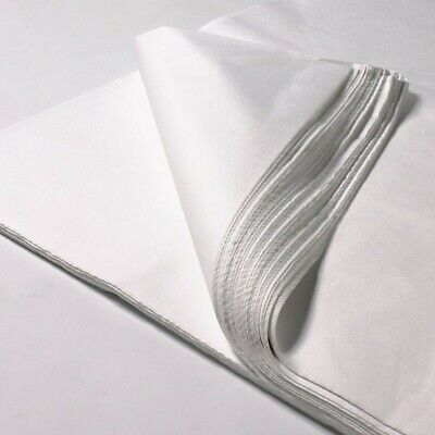 1000 Sheets of White Acid Free Tissue / Wrapping Paper 450mm x 700mm Packaging