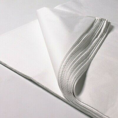 "White 18gsm 20"" x 30"" (500mmx700mm) 1000 Sheets Acid Free Tissue Wrapping Paper"