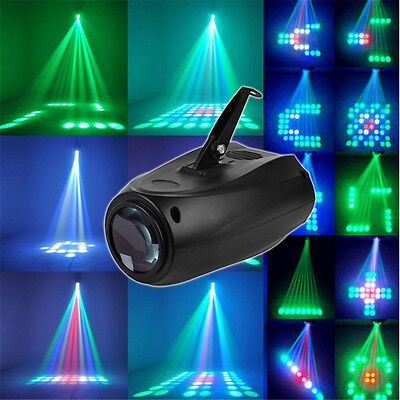 DMX Moving Active Stage Laser Projector Strobe Lighting DJ Disco Party Dancing