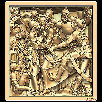 (297) STL Model for CNC Router 3D Printer  Artcam Aspire Bas Relief
