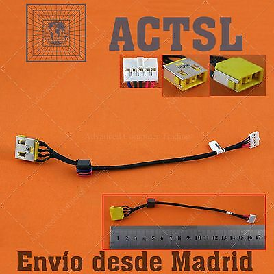 Conector DC Power Jack para Lenovo G500S (with cable)