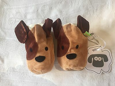UK Designers Funky Feet childrens puppy Slippers