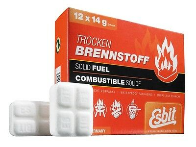 Esbit Solid Fuel Tablets 12 X 14G 00101200