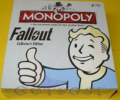 Winning Moves - Monopoly Fallout Collectors Edition