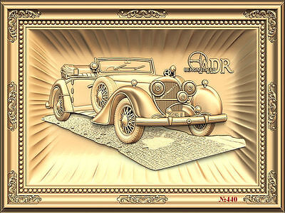 (440) STL Model Car for CNC Router 3D Printer  Artcam Aspire Bas Relief
