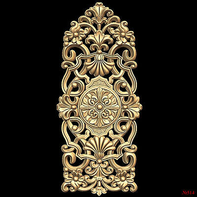 (514) STL Model Decor for CNC Router 3D Printer  Artcam Aspire Bas Relief