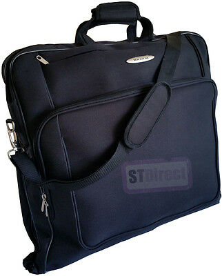 Deluxe Garment Suit Carrier Case Wardrobe Dress Suitbag Cover Bag Travel Luggage