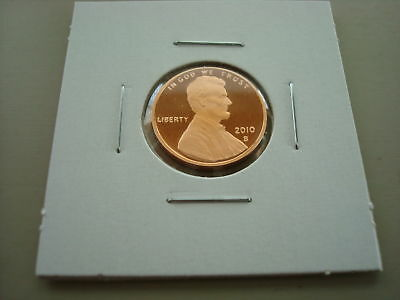 2010-S New Lincoln Shield Cent Proof Coin Uncirculated San Francisco Mint