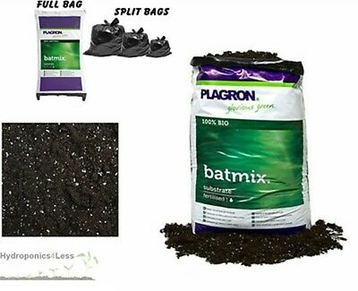 PLAGRON Bat Mix 10,25 or 50L Perlite Organic Soil Compost Hydroponics Grow Media