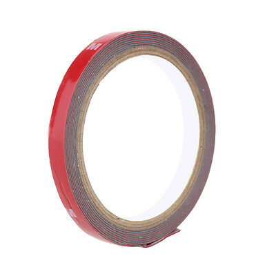 New 3M 10mm x3m Auto Car Acrylic Foam Double Sided Attachment Adhesive Tape uk