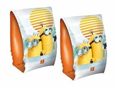 Swimming Armbands Despicable Minions Swim Arm Bands For Kids Children Pool Beach