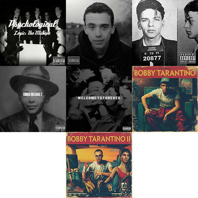 Logic - Mixtape Collection CD Young Sinatra Undeniable Ratt Pack
