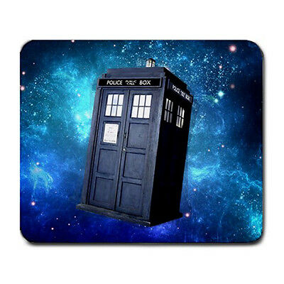Dr WHO TARDIS Police Public Call Box for LARGE Mousepad MOUSE PAD FREE shipping