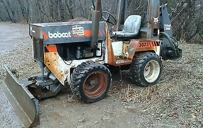 Bobcat Trencher Diesel 3023 with Plow