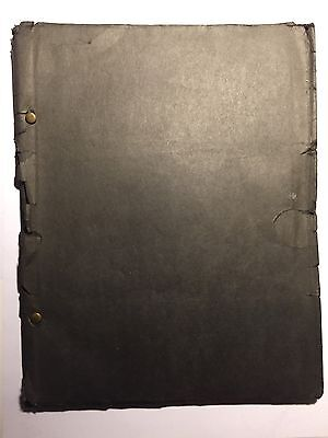 Original 1933 Screenplay Passion Of Jesus Christ & House Of Seven Gables AMAZING