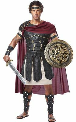 Roman Gladiator Hercules Warrior Adult Mens Fancy Dress Halloween Costume