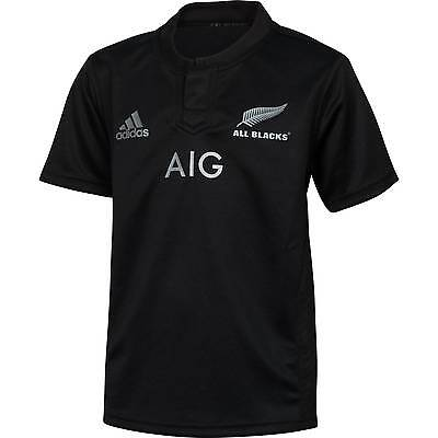 New Zealand All Blacks Home 2015/16 Champion Rugby Jersey Shirt Top
