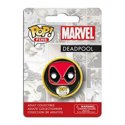 Marvel Comics Pop! Pin Badge - Deadpool - Funko - Nuovo