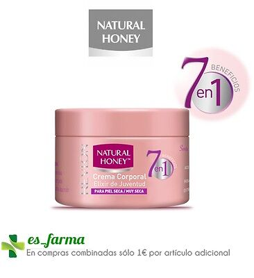 Natural Honey Elixir De Juventud 7 En 1 Crema Corporal 250Ml, Locion Cuerpo 75Ml