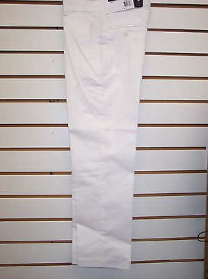 Boys IZOD $40 White Uniform/Dress Pants Size 4 - 20