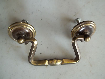 "Matching Pair of Attractive Vintage Drawer Pulls, 3"" Mount, Free S/H"
