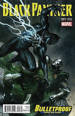 BLACK PANTHER #1 Variant Exclusive BULLETPROOF Variant Dell'Otto *ready to ship